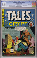 Golden Age (1938-1955):Horror, Tales From the Crypt #20 (#1) Gaines File pedigree (EC, 1950) CGCNM/MT 9.8 Off-white to white pages....