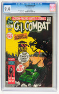 Bronze Age (1970-1979):War, G.I. Combat #149 (DC, 1971) CGC NM 9.4 White pages....