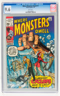 Bronze Age (1970-1979):Horror, Where Monsters Dwell #1 (Marvel, 1970) CGC NM+ 9.6 White pages....