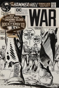 Original Comic Art:Covers, Joe Kubert Star Spangled War Stories #157 Unknown Soldierand Sgt. Rock Cover Original Art (DC, 1971)....