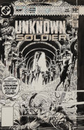 Original Comic Art:Covers, Joe Kubert Unknown Soldier #245 Cover Original Art (DC,1980)....