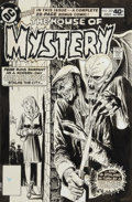 Original Comic Art:Covers, Joe Kubert House of Mystery #282 Cover Original Art (DC,1980)....