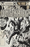 Original Comic Art:Covers, Joe Kubert Blitzkrieg #5 Cover Original Art (DC, 1976)....