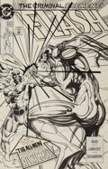 Original Comic Art:Covers, Greg LaRocque and Roy Richardson Flash #71 Cover OriginalArt (DC, 1991)....