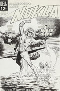 Original Comic Art:Covers, Dick Giordano and Sal Trapani Nukla #1 Cover Original Art(Dell, 1965)....
