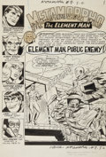 Original Comic Art:Splash Pages, Sal Trapani and Charles Paris Metamorpho #8 Splash Page 1 Original Art (DC, 1966)....
