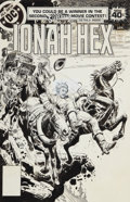 Original Comic Art:Covers, Luis Dominguez Jonah Hex #20 Cover Original Art (DC,1979)....