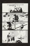Original Comic Art:Panel Pages, Mike Mignola and Al Williamson Fafhrd and the Gray Mauser #1 page 41 Original Art (Marvel, 1990)....