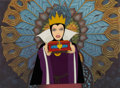 Animation Art:Limited Edition Cel, Snow White Evil Queen Limited Edition Cel #6/500 (Disney, 1987).... (Total: 3 Items)