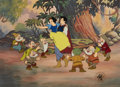 Animation Art:Limited Edition Cel, Snow White Limited Edition Cel #6/500 (Disney, 1987)....