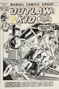 Original Comic Art:Covers, Gil Kane and Vince Colletta The Outlaw Kid #11 CoverOriginal Art (Marvel, 1972)....