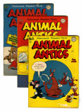 Golden Age (1938-1955):Funny Animal, Animal Antics #5-7 Group (DC, 1946-47).... (Total: 3 Comic Books)
