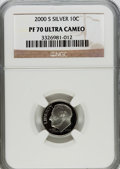 Proof Roosevelt Dimes: , 2000-S 10C Silver PR70 Ultra Cameo NGC. NGC Census: (878). PCGSPopulation (236). Numismedia Wsl. Price for problem free N...