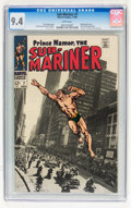 Silver Age (1956-1969):Superhero, The Sub-Mariner #7 (Marvel, 1968) CGC NM 9.4 White pages....