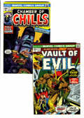 Bronze Age (1970-1979):Horror, Vault of Evil #6 and 11 Group (Marvel, 1973-74) Condition: AverageNM.... (Total: 2 Comic Books)