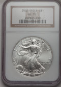 Modern Bullion Coins, 2002 $1 Silver Eagle MS70 NGC. NGC Census: (0). PCGS Population(0). Numismedia Wsl. Price for problem free NGC/PCGS coin ...