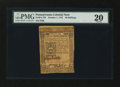 Colonial Notes:Pennsylvania, Pennsylvania October 1, 1773 50s PMG Very Fine 20....