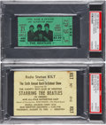 Music Memorabilia:Tickets, The Beatles Ticket Stubs, 1965 and 1966.... (Total: 2 )