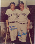 Autographs:Photos, 1980's Mickey Mantle & Roger Maris Signed Photograph. ...