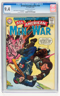 Silver Age (1956-1969):War, All-American Men of War #103 (DC, 1964) CGC NM 9.4 Off-white to white pages....