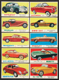 "Non-Sport Cards:Lots, 1961 Topps ""Sports Cars"" Collection (120). ..."