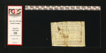 Colonial Notes:North Carolina, North Carolina April 23, 1761 20s PCGS Apparent Very Good 10....