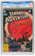 Golden Age (1938-1955):Science Fiction, Strange Adventures #2 (DC, 1950) CGC FN/VF 7.0 White pages....