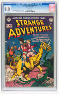 Golden Age (1938-1955):Science Fiction, Strange Adventures #12 (DC, 1951) CGC VF 8.0 White pages....
