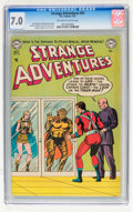 Golden Age (1938-1955):Science Fiction, Strange Adventures #34 (DC, 1953) CGC FN/VF 7.0 Off-white to whitepages....