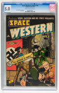 Golden Age (1938-1955):Science Fiction, Space Western #44 (Charlton, 1953) CGC VG/FN 5.0 Cream to off-whitepages....