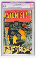 Silver Age (1956-1969):Mystery, Tales to Astonish #3 (Marvel, 1959) CGC Apparent FN/VF 7.0 Slight(P) Off-white pages....