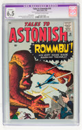 Silver Age (1956-1969):Mystery, Tales to Astonish #19 (Marvel, 1961) CGC Apparent FN+ 6.5 Slight(A) Off-white to white pages....