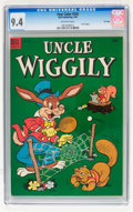 Golden Age (1938-1955):Funny Animal, Four Color #543 Uncle Wiggily - File Copy (Dell, 1954) CGC NM 9.4Off-white pages....