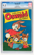 Golden Age (1938-1955):Funny Animal, Four Color #549 Oswald the Rabbit - File Copy (Dell, 1954) CGC NM-9.2 Off-white pages....