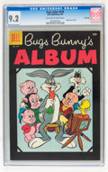 Silver Age (1956-1969):Cartoon Character, Four Color #724 Bugs Bunny's Album - File Copy (Dell, 1956) CGC NM- 9.2 Off-white to white pages....