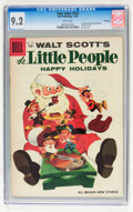 Silver Age (1956-1969):Humor, Four Color #753 The Little People Happy Holidays - File Copy (Dell, 1956) CGC NM- 9.2 White pages....