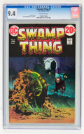 Bronze Age (1970-1979):Horror, Swamp Thing #4 (DC, 1973) CGC NM 9.4 Off-white pages....