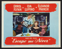 """Escape Me Never (Warner Brothers, 1948). Lobby Cards (7) (11"""" X 14""""). Drama. ... (Total: 7 Items)"""