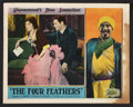 "Movie Posters:Adventure, The Four Feathers (Paramount, 1929). Lobby Card (11"" X 14"").Adventure.. ..."