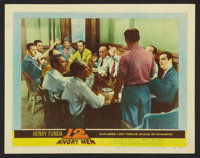 "12 Angry Men Lot (United Artists, 1957). Lobby Cards (2) (11"" X 14""). Drama. ... (Total: 2 Items)"