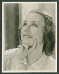 "Movie Posters:Miscellaneous, Norma Shearer Lot (MGM, 1930s). Portrait Stills (2) (8"" X 10""). Miscellaneous.. ... (Total: 2 Items)"
