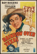 """Movie Posters:Western, Rainbow Over Texas (Republic, 1946). One Sheet (27"""" X 41"""").Western.. ..."""
