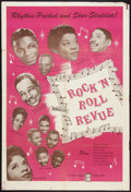 "Movie Posters:Rock and Roll, Rock 'N' Roll Revue (Studio Films, 1955). One Sheet (27"" X 41"").Rock and Roll.. ..."
