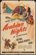 "Movie Posters:Adventure, Arabian Nights (Universal, 1942). One Sheet (27"" X 41"") Style D.Adventure.. ..."