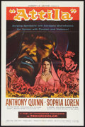 "Movie Posters:Adventure, Attila (Lux, 1958). One Sheet (27"" X 41""). Adventure.. ..."