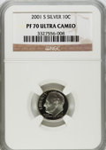 Proof Roosevelt Dimes: , 2001-S 10C Silver PR70 Ultra Cameo NGC. NGC Census: (0). PCGSPopulation (241). Numismedia Wsl. Price for problem free NGC...