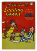 Golden Age (1938-1955):Funny Animal, Leading Comics #25 (DC, 1947) Condition: VF/NM....