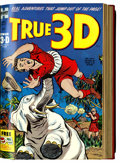 Golden Age (1938-1955):Miscellaneous, Harvey 3-D Comics Bound Volume (Harvey, 1953-54)....