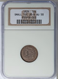 Bust Dimes: , 1829 10C Small 10C AU58 NGC. JR-6. NGC Census: (35/155). PCGSPopulation (16/119). Mintage: 770,000. Numismedia Wsl. Price...
