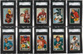 Football Cards:Sets, 1951 Bowman Football Complete Set (144). ...
